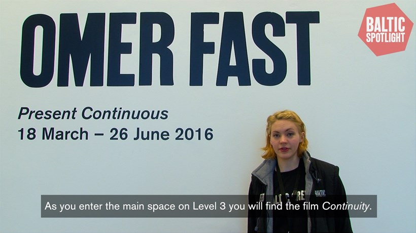 BALTIC Spotlight: Omer Fast (subtitled)