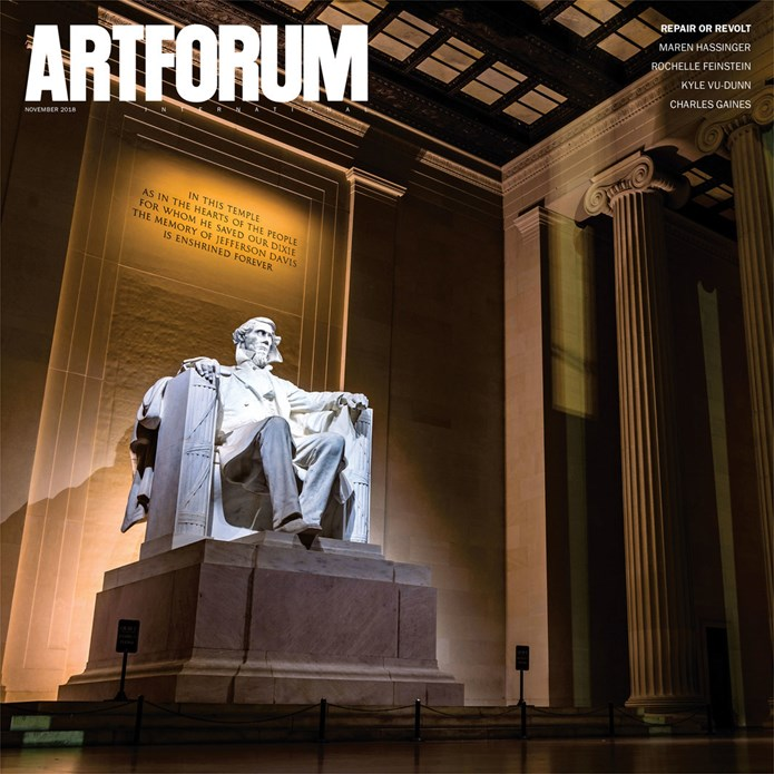Artforum International - Vol. 57, No. 3 - November 2018