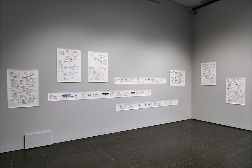 Disappearance at Sea - Mare Nostrum: Installation View (03)
