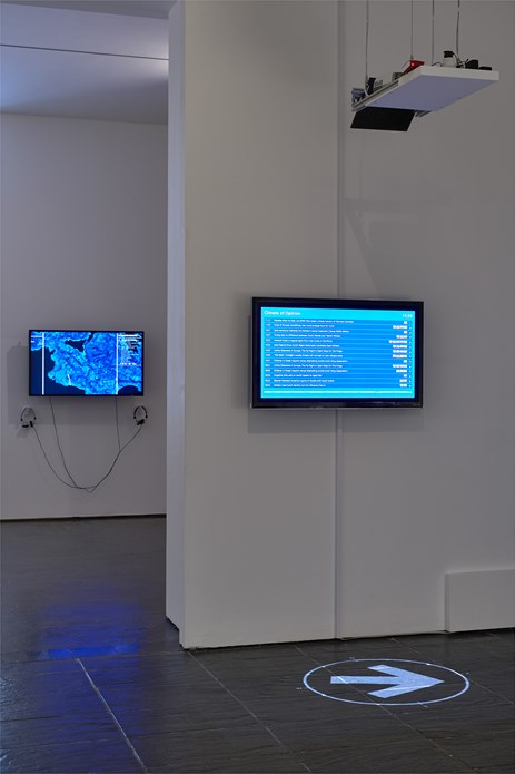 Disappearance at Sea - Mare Nostrum: Installation View (04)