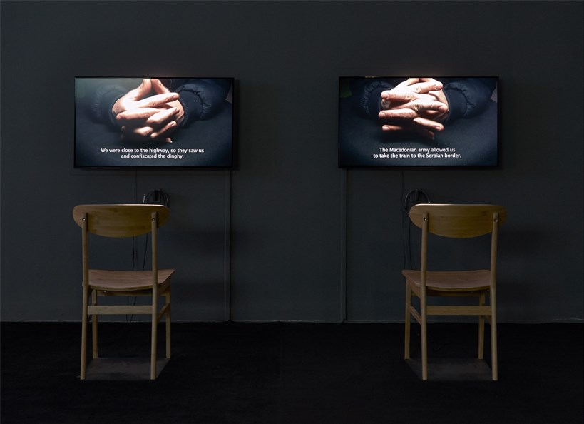 Disappearance at Sea - Mare Nostrum: Installation View (07)