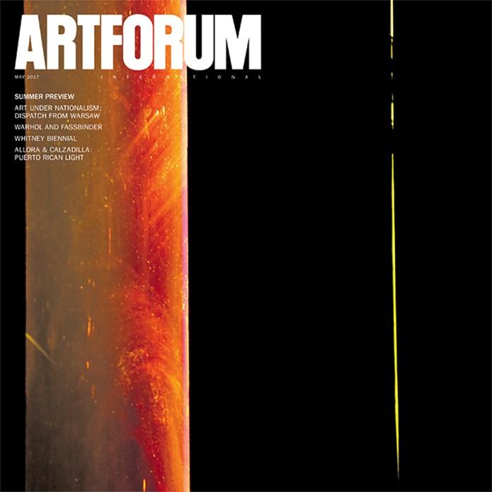 Artforum International - Vol. 55, No. 9 - May 2017