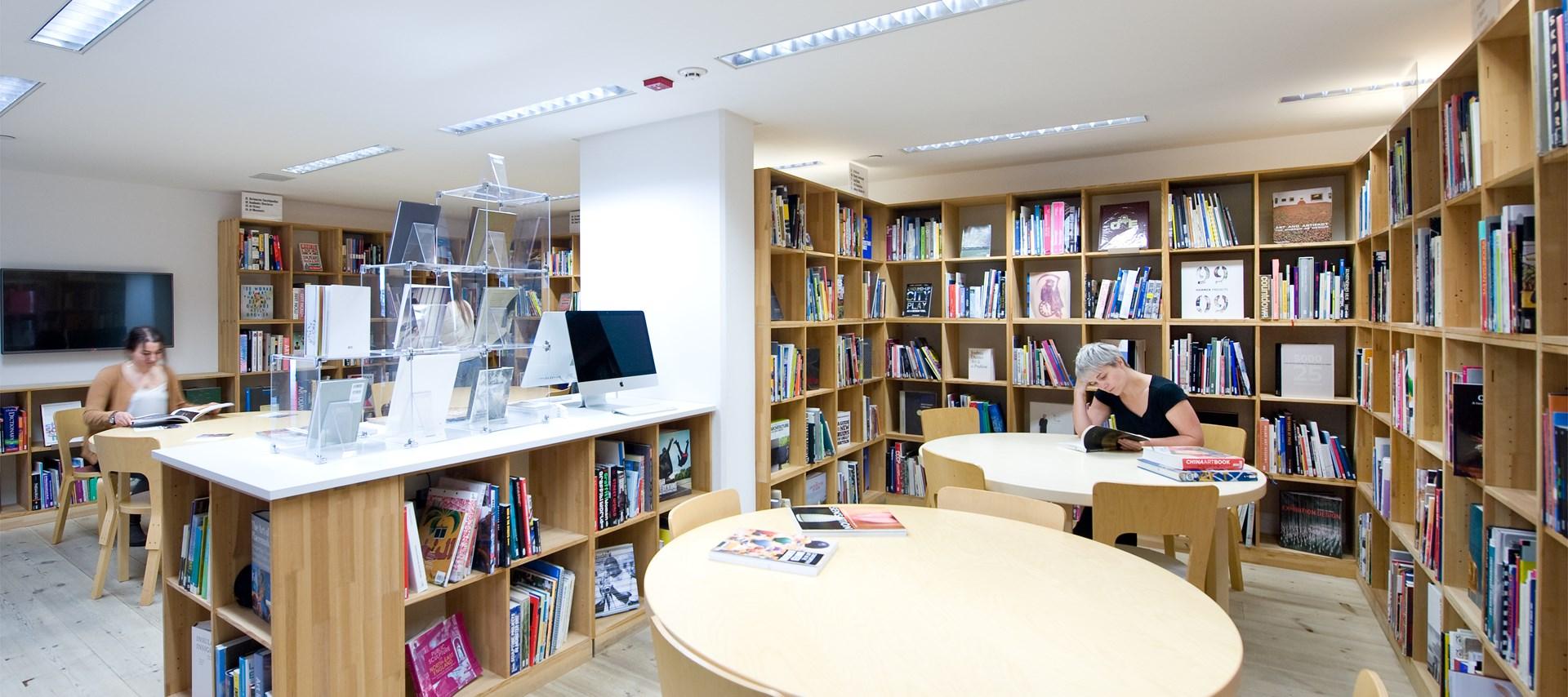 BALTIC Library by Colin Davison