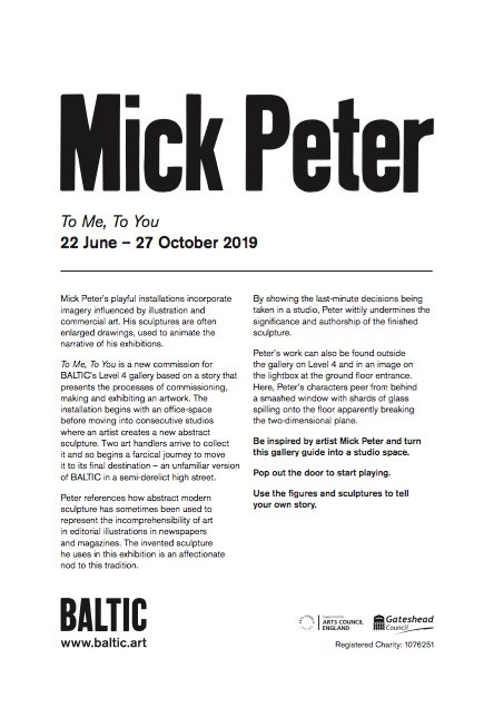 Mick Peter: Exhibition Guide