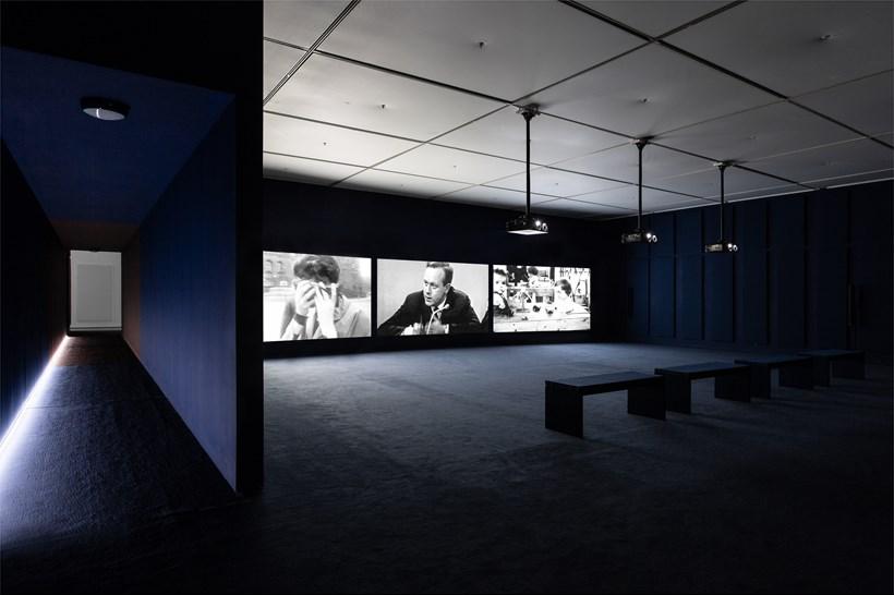 John Akomfrah: Ballasts of Memory: Installation View (05)
