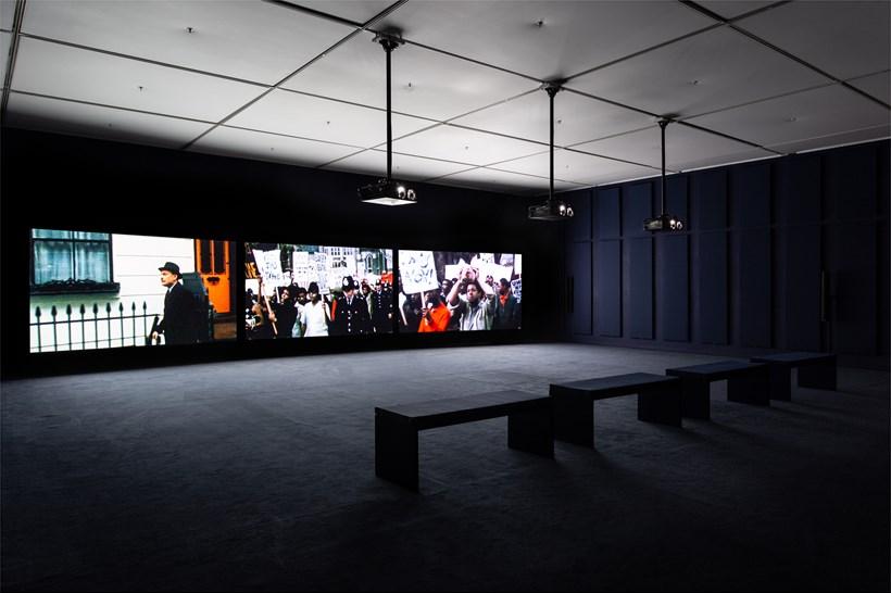 John Akomfrah: Ballasts of Memory: Installation View (06)