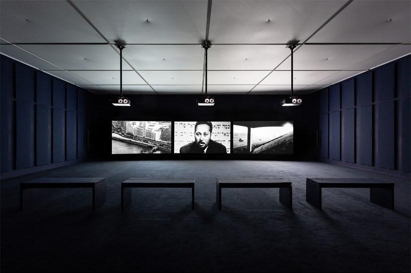 John Akomfrah: Ballasts of Memory: Installation View (07)