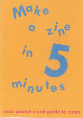 Saffa Khan: Make a Zine in 5 minutes