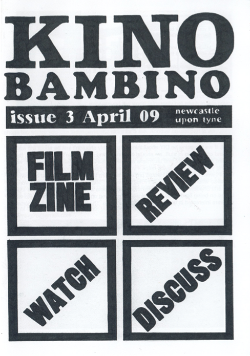 Kino Bambino: Film Zine Issue Three