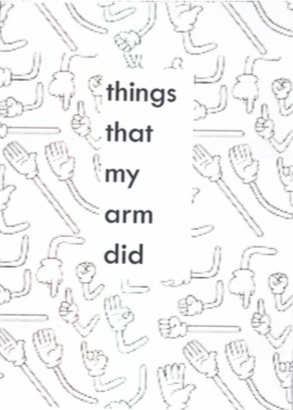 Happy Otter Zines: things that my arm did