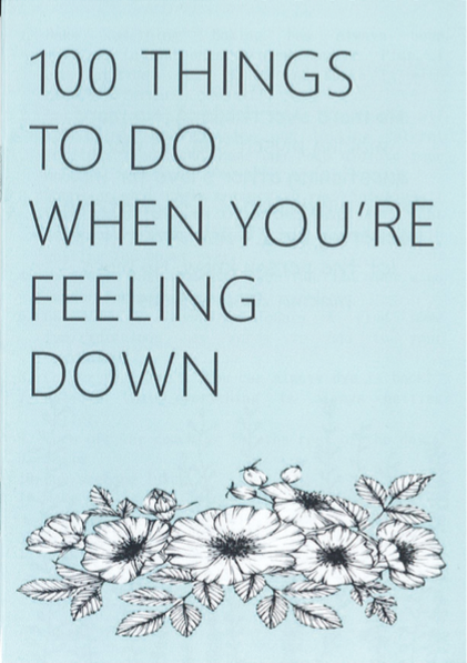 Zulaikha: 100 things to do when you're feeling down