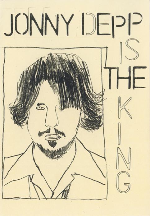 Jonny Depp is the King