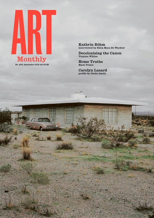 Art Monthly - No 429 - September 2019