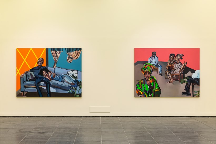 Joy Labinjo: Our histories cling to us: Installation View (05)