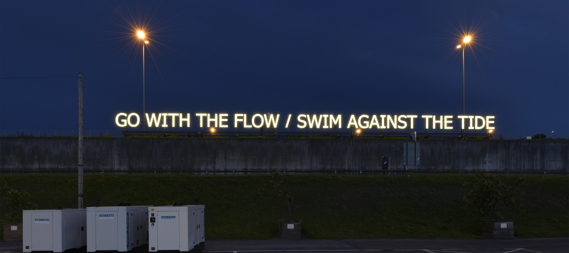 Tim Etchells: With/Against, 2018. Photo: Jonty Wilde © BALTIC