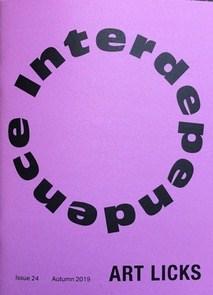 Art Licks - Issue 24 - Interdependence