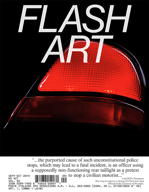 Flash Art - No. 327 - Sept – Oct 2019