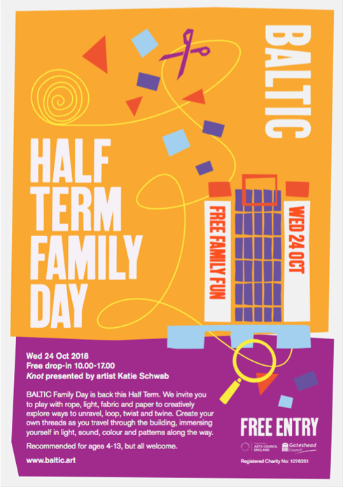 BALTIC Half Term Family Day 2018