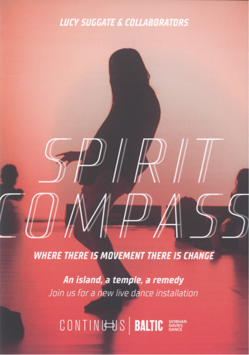Lucy Suggate & Collaborators: Spirit Compass: Flyer