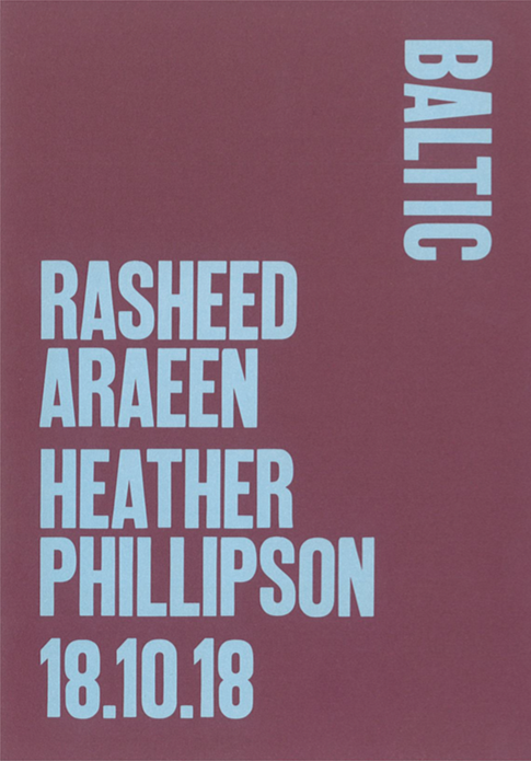 Rasheed Araeen / Heather Phillipson: Supporters Preview Card