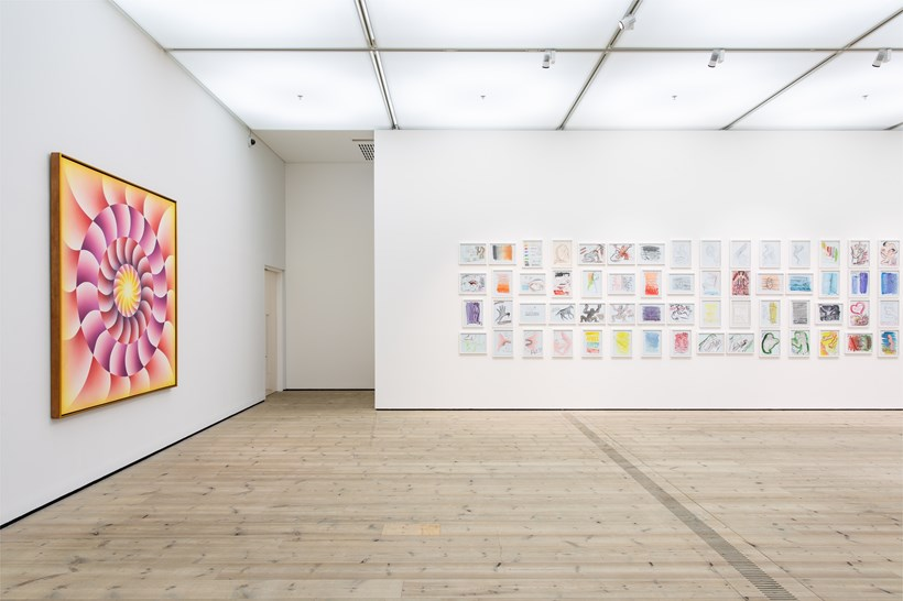 Judy Chicago: Installation View (03)