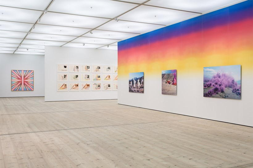 Judy Chicago: Installation View (06)