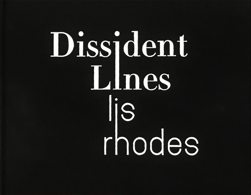 Dissident Lines - Lis Rhodes