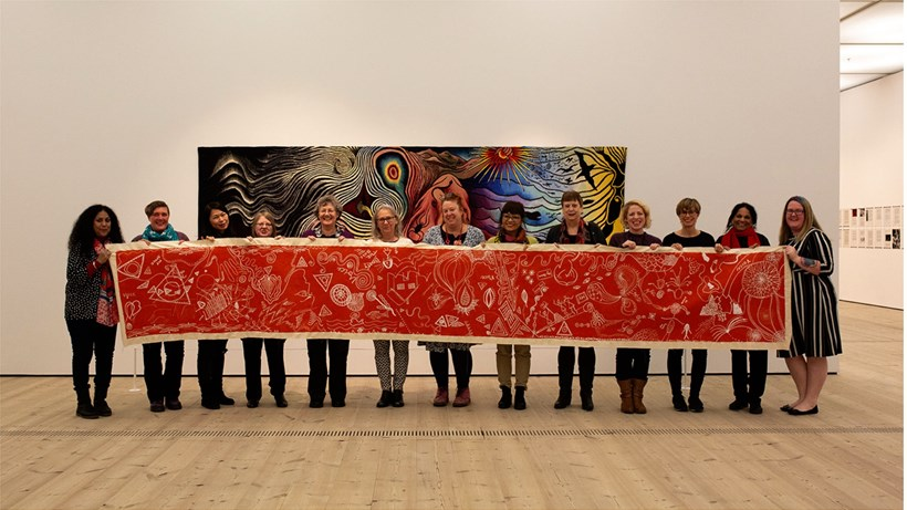 Sangini at BALTIC: In response to Judy Chicago