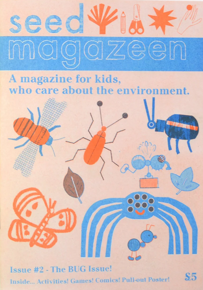 Lizzie Lomax & Jack Snelling: Seed Magazeen Issue 2