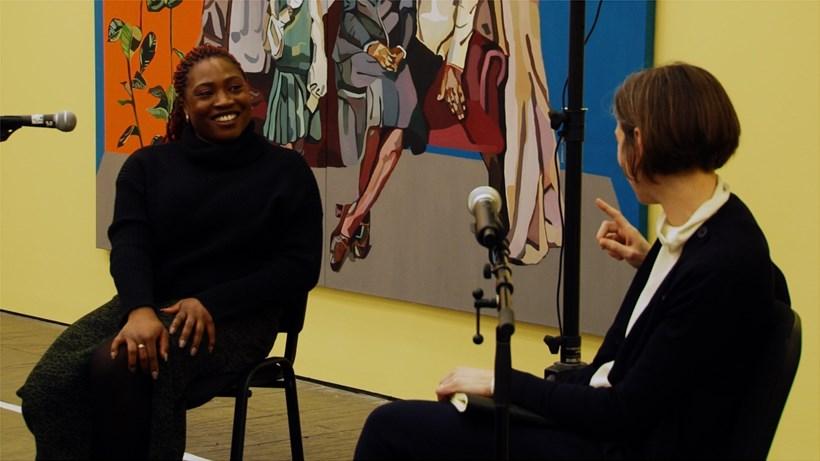 Joy Labinjo in conversation with Elena Crippa