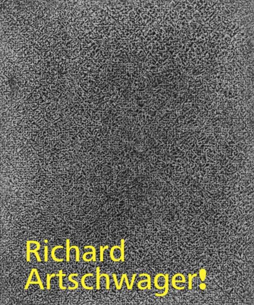 Richard Artschwager: Richard Artschwager!