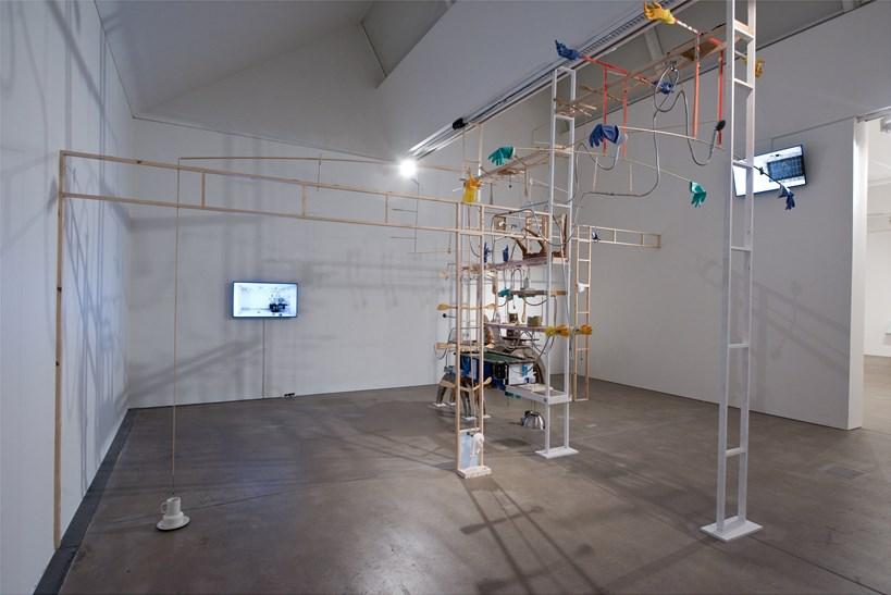 Kara Chin: Sentient-Mecha-Furniture: Installation View (01)
