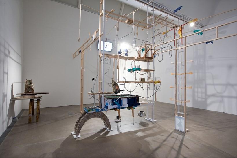 Kara Chin: Sentient-Mecha-Furniture: Installation View (02)