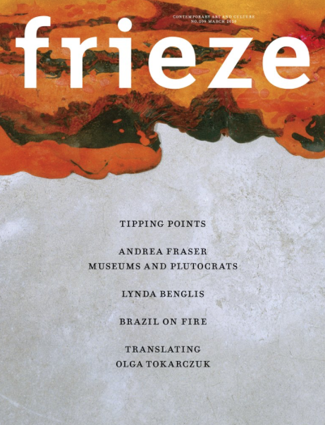 Frieze - Issue 209 - March 2020