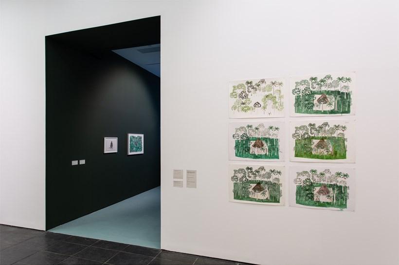 Abel Rodríguez: Installation view (28)