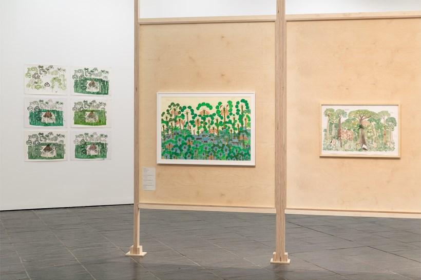 Abel Rodríguez: Installation view (04)