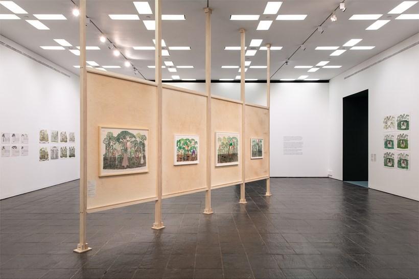 Abel Rodríguez: Installation view (02)