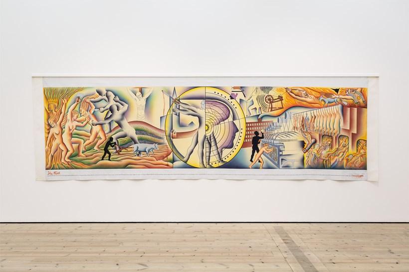 Judy Chicago: Installation View (29)