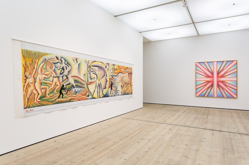 Judy Chicago: Installation View (30)