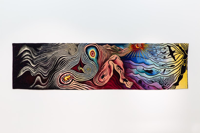 Judy Chicago: Installation View (34)