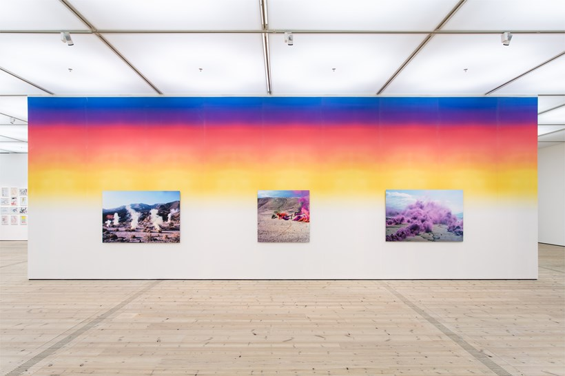 Judy Chicago: Installation View (36)