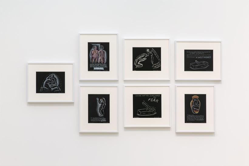 Judy Chicago: Installation View (45)