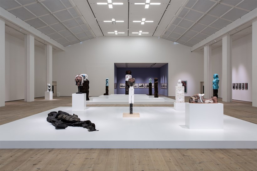 Huma Bhabha: Against Time: Installation View (04)