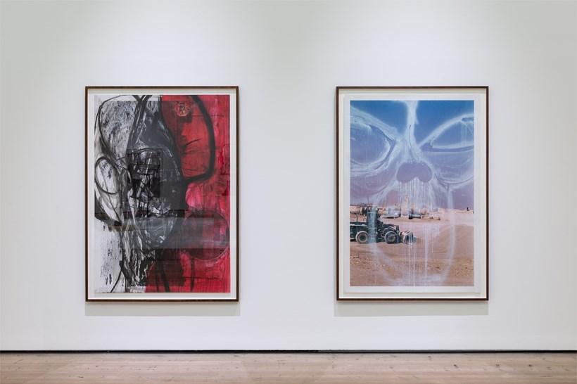 Huma Bhabha: Against Time: Installation View (07)