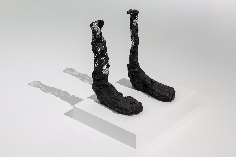 Huma Bhabha: Against Time: Installation View (08)