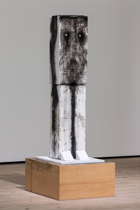 Huma Bhabha: Against Time: Installation View (09)