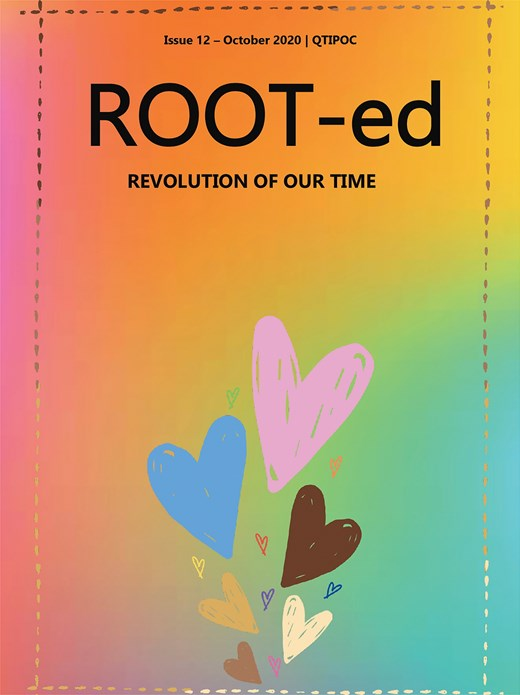 ROOT-ed Zine x Homotopia Issue 12 - July 2020
