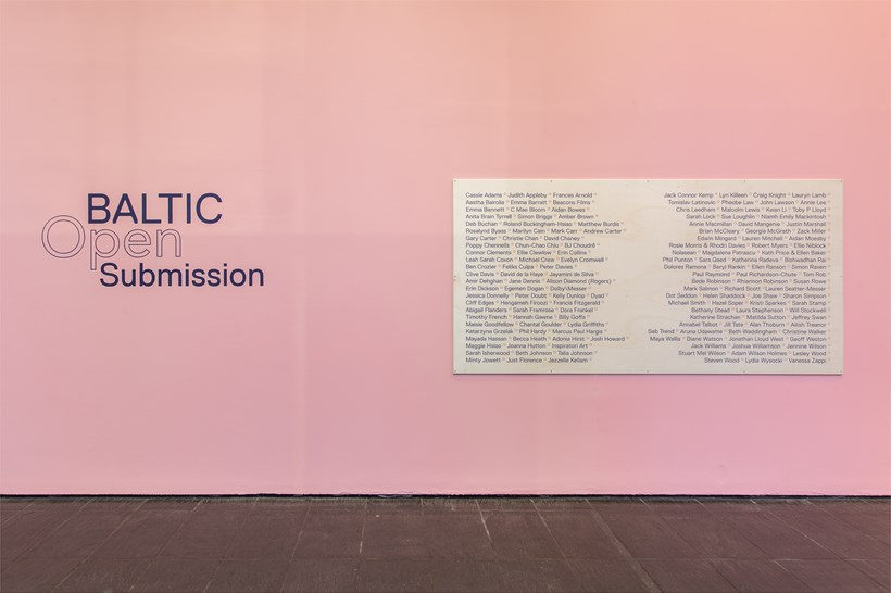 BALTIC Open Submission: Installation View (02)
