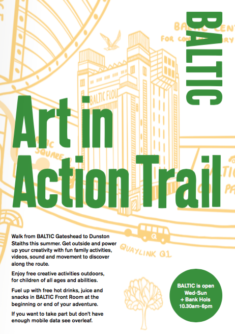 Art in Action Trail: Activity Guide