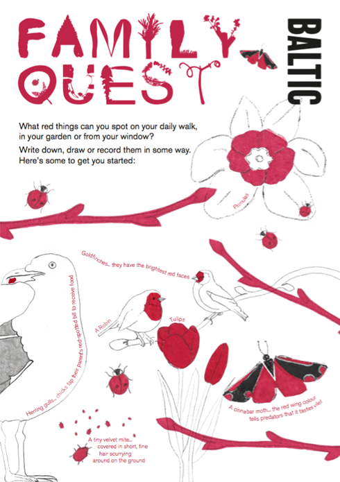 BALTIC Family Quest Activity Guide: Red